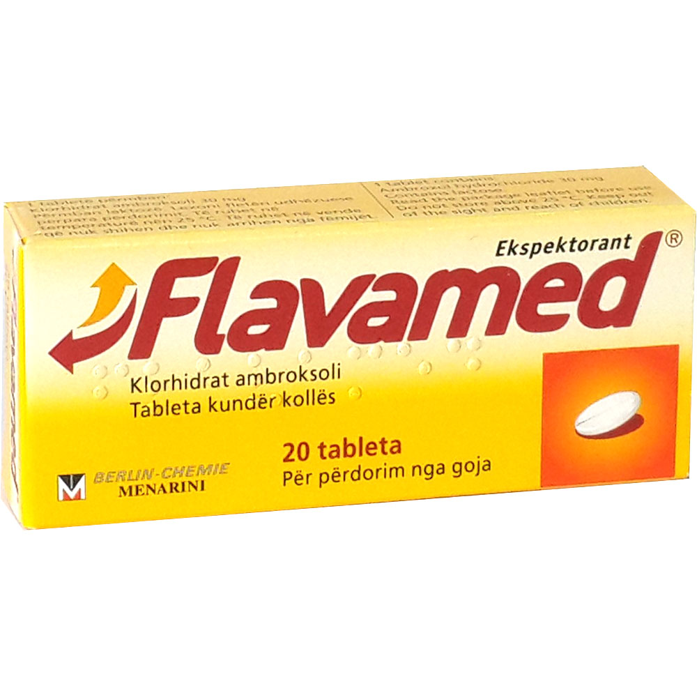 The drug Flavamed. Instructions for use